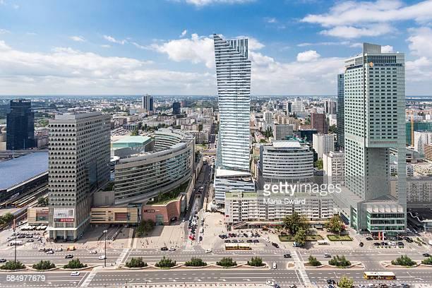 Warsaw - Modern Buildings Downtown