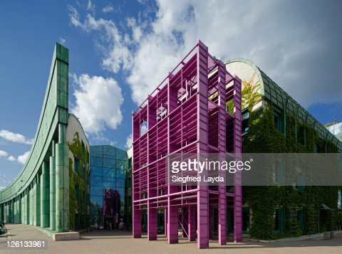 Warsaw University Library : Stock Photo