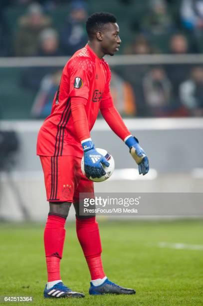 Warszawa Pilka nozna UEFA Liga Europy Sezon 2016/2017'nMecz Legia Warszawa Ajax Amsterdam'nN/z Andre Onana'nFoto Rafal Oleksiewicz / PressFocus'n'n...