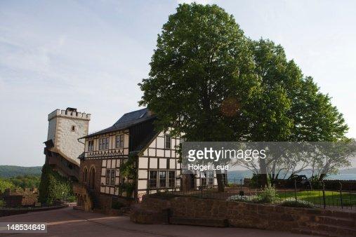 Wartburg medieval castle.