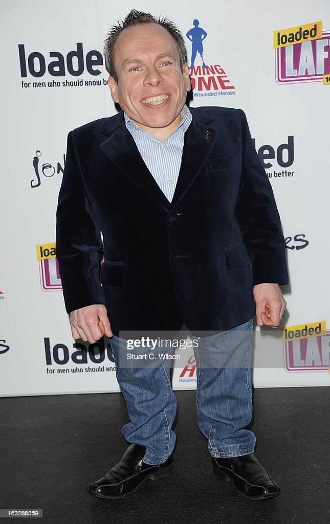 Warwick Davies attends the Loaded LAFTA's at Sway on March 7, 2013 in London, England.