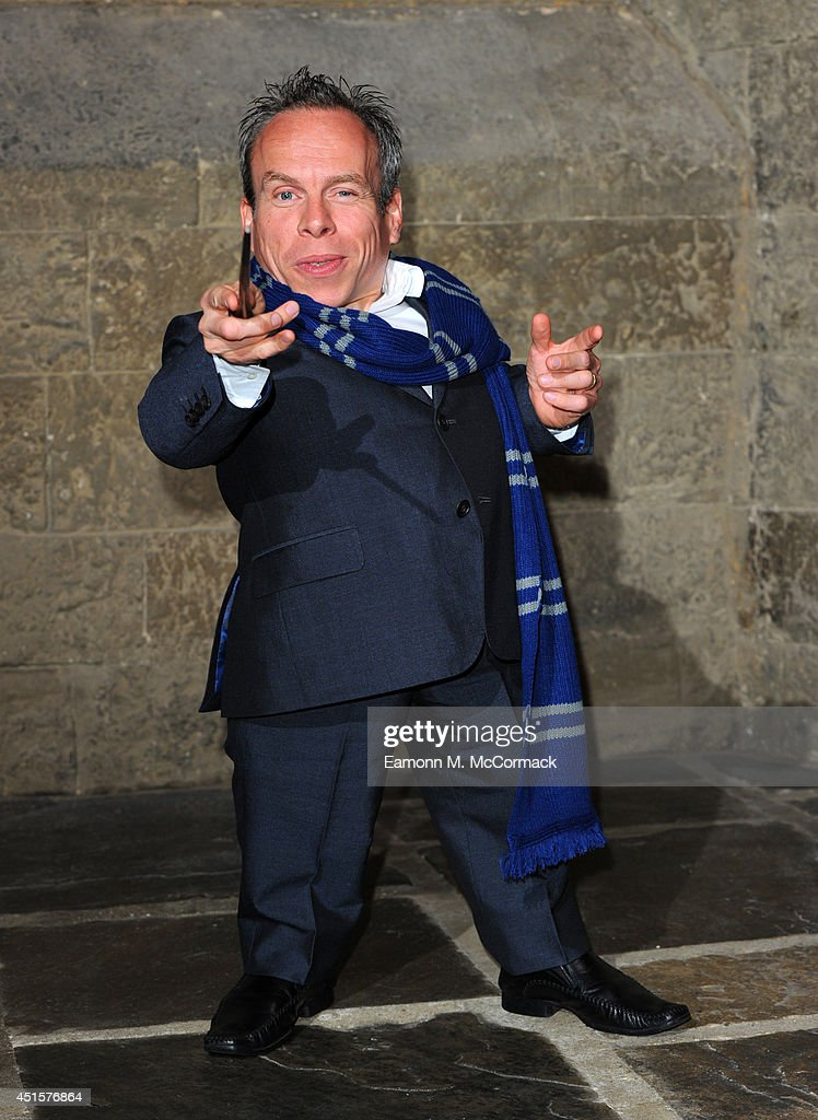 <a gi-track='captionPersonalityLinkClicked' href=/galleries/search?phrase=Warwick+Davis&family=editorial&specificpeople=1182415 ng-click='$event.stopPropagation()'>Warwick Davis</a> attends a VIP screening of 'Harry Potter And The Philosopher's Stone' at Leavesden Studios on July 1, 2014 in Watford, England.