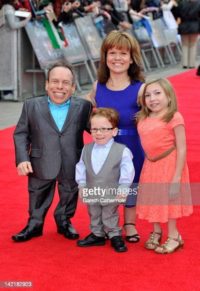 Warwick Davis attends the Grand Opening of the Warner Bros Studio Tour London The Making of Harry Potter on March 31 2012 in Watford England