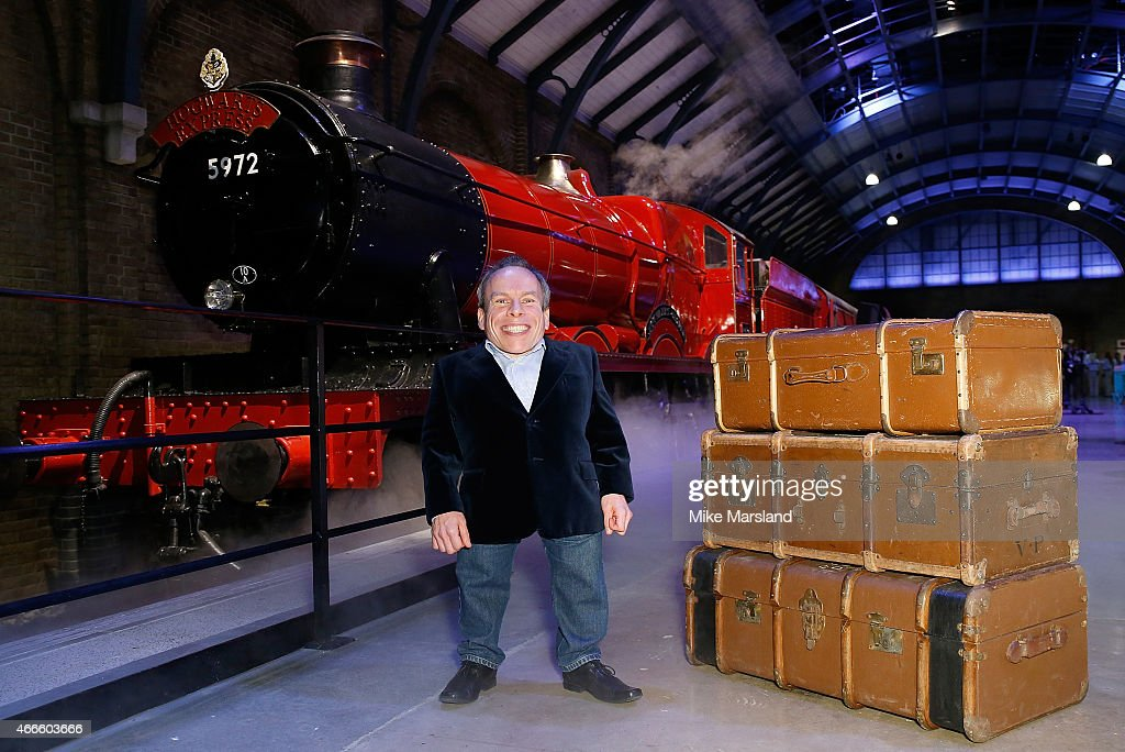 Launch Of The Original Hogwarts Express And Platform 9 3/4 At Warner Bros Studio Tour London