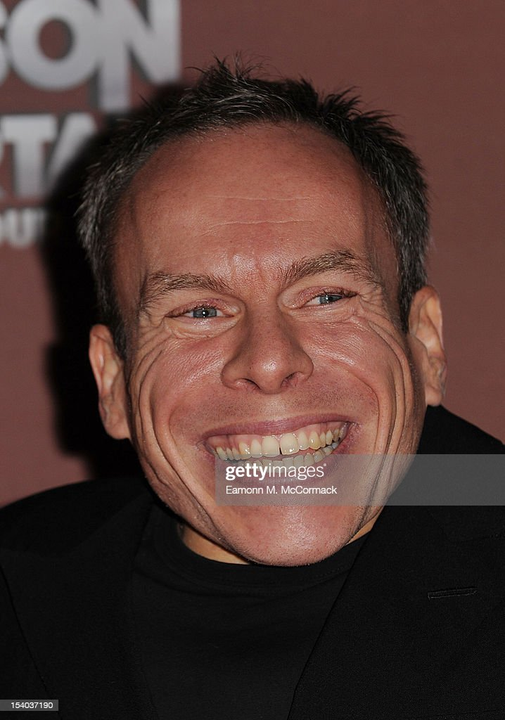 <a gi-track='captionPersonalityLinkClicked' href=/galleries/search?phrase=Warwick+Davis&family=editorial&specificpeople=1182415 ng-click='$event.stopPropagation()'>Warwick Davis</a> attends the opening night of Cirque Du Soleil's 'Michael Jackson: The Immortal World Tour' at 02 Arena on October 12, 2012 in London, England.