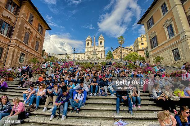 CONTENT] I was envisioning a clean shot of the Spanish Steps This is the madness I found when I arrived I stood up in front of everyone and asked...