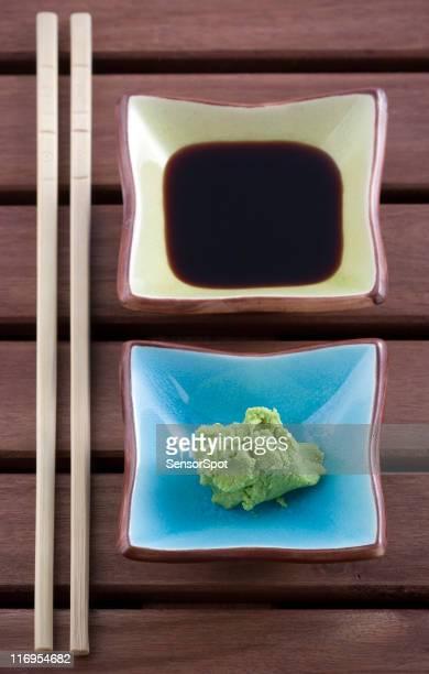 Wasasbi 、醤油