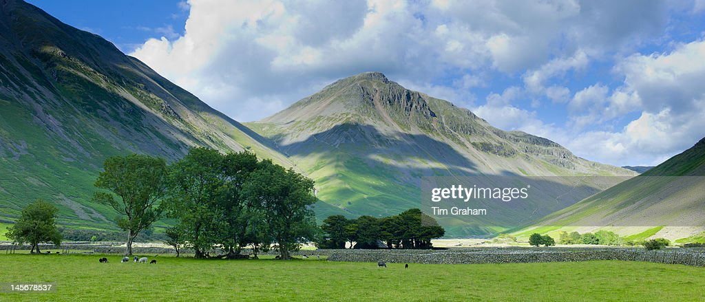 Wasdale Fell at Wastwater, The Lake District, UK : Stock Photo