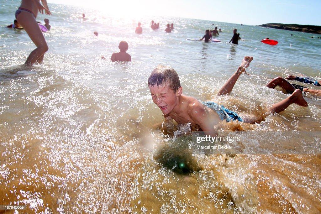 Washed ashore : Stock Photo