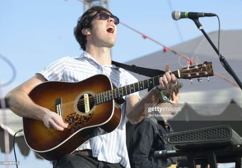 Washed Out aka Ernest Greene performs during the Sasquatch! Music Festival at the Gorge Amphitheatre on May 24, 2014 in George, Washington.