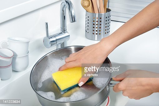 Washing Dishes (Click for more)