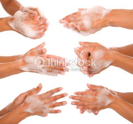 手を洗う : ストックフォト