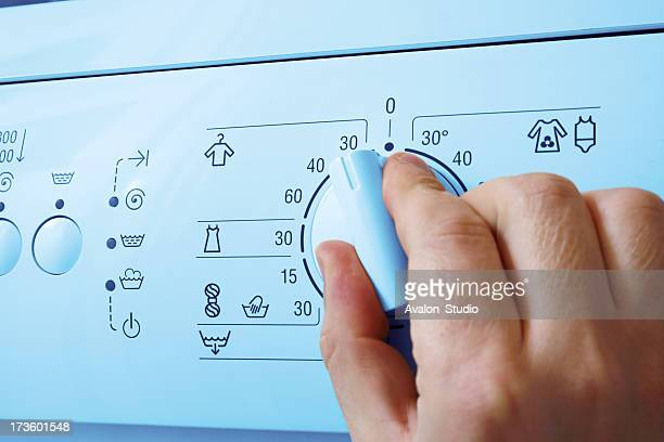 Waschmaschine und hand