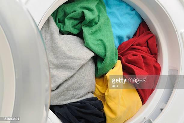 Washing Machine / Dryer full of clothes (XXXL)