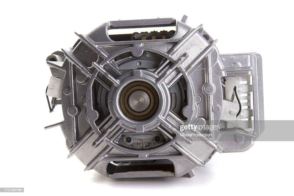 Washing machine motor stock photo getty images for Washing machine motor bearings