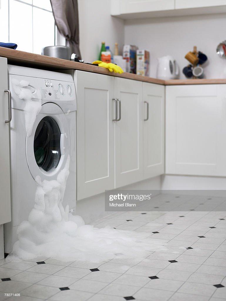 Washing Machine Overflowing In Kitchen