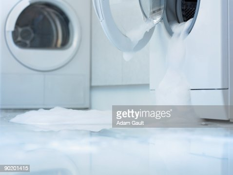 Washing machine overflowing
