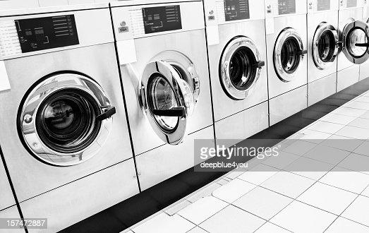 Interesting Row Of Washing Machines 1 To Decorating