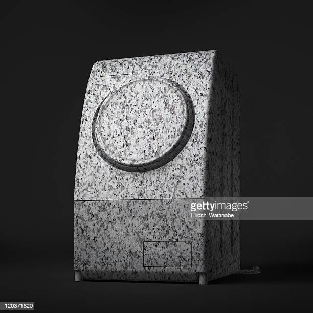 Washing machine which became stone