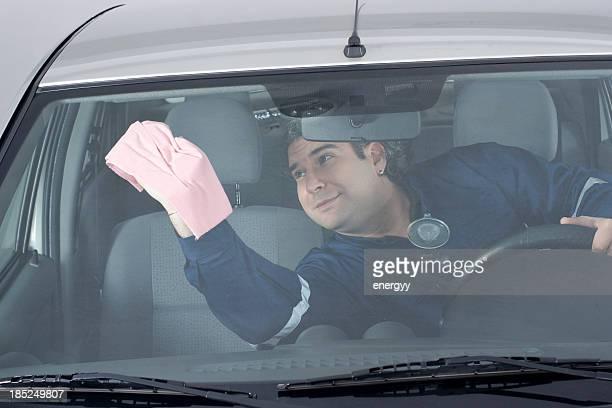 Washing the Car Interior