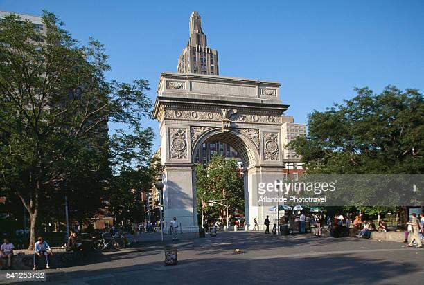 Washington Arch in Manhattan