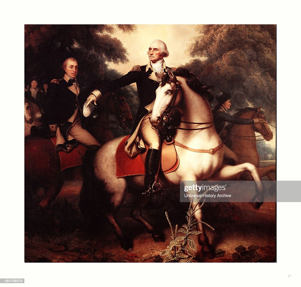 Washington Before Yorktown By Peale Rembrandt 17781860 Artist Reproduction Shows George Washington Fulllength Portrait In Full Dress Uniform On...