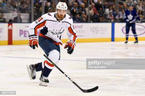 Washington Capitals Center Tyler Graovac during the NHL regular season hockey game between the Washington Capitals and Toronto Maple Leafs on...