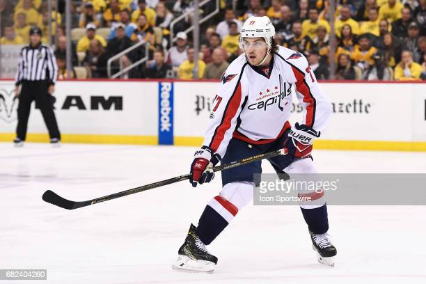Washington Capitals right wing TJ Oshie skates during the third period in Game Six of the Eastern Conference Second Round in the 2017 NHL Stanley Cup...
