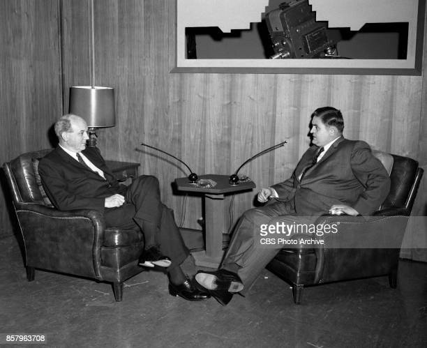 Washington Conversation a CBS News interview program Host Paul Niven and Dean Rusk Secretary of State September 2 1962 Washington DC