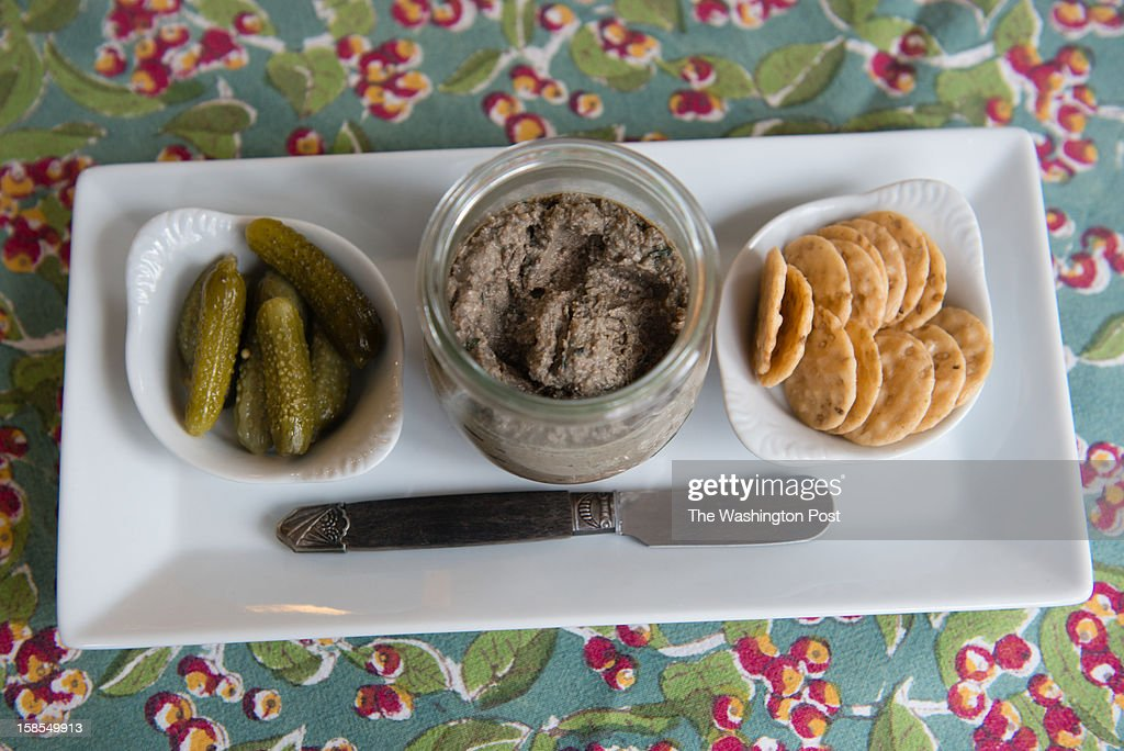 Washington cook Cathy Barrow shows how one goose yields a Christmas main dish as well as several ingredients to be used for other recipes. Goose liver pate is pictured.