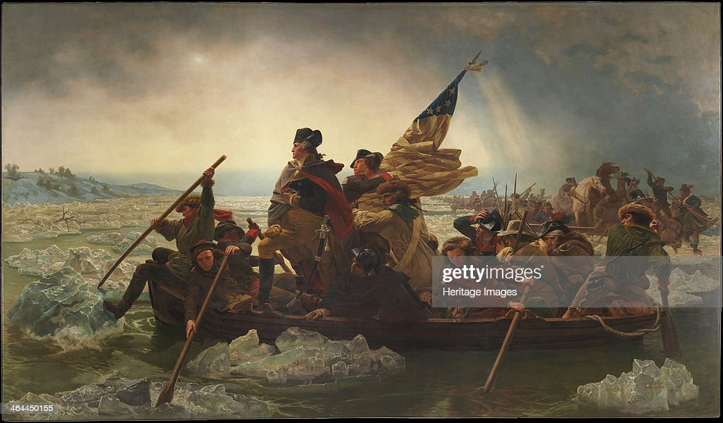 Washington Crossing the Delaware 1851 Found in the collection of the Metropolitan Museum of Art New York