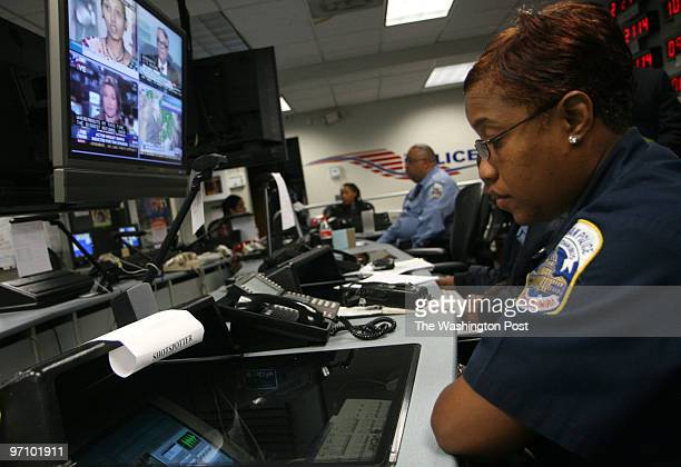Washington DC 10/17/06 DC cops are using a new tool in fighting crime the Shotspotter which uses highly sophisticated microphones to detect the sound...