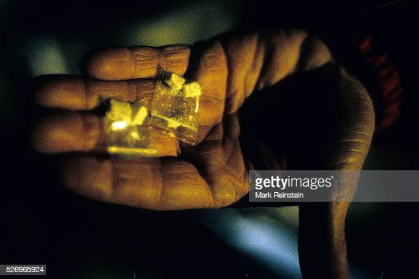 Washington DC 1989 Hand holding crack cocaine in Washington DC Crack cocaine is the freebase form of cocaine that can be smoked It may also be termed...