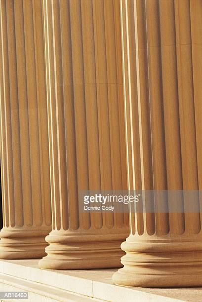 USA, Washington DC, columns, close-up