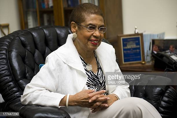 Washington DC Congressional Democratic Delegate Eleanor Holmes Norton speaks about the 1963 March on Washington for civil rights and racial equality...