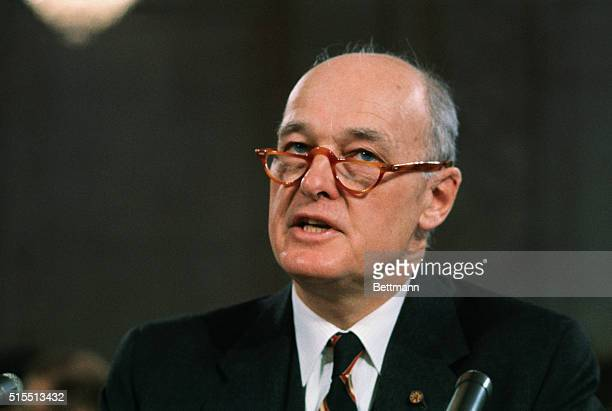 Former Ambassador George F Kennan tells the Senate Foreign Relations Committee that the US 'Should do everything possible' to avoid further...