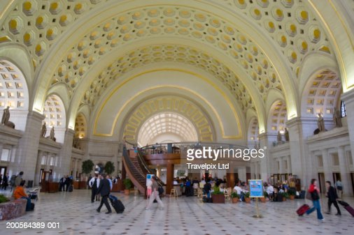 USA, Washington DC, interior of Union Station