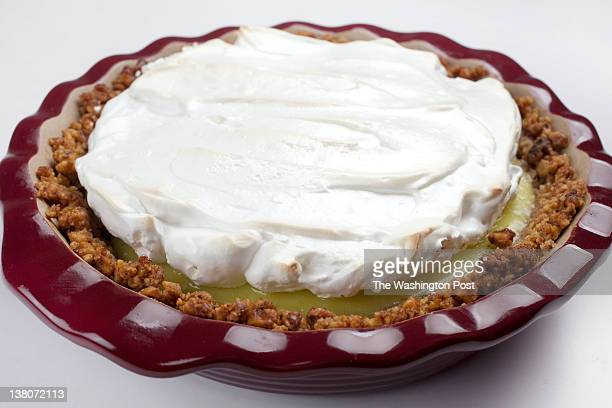 March 16 Key Lime Pie for Passover photographed on March 16 2011