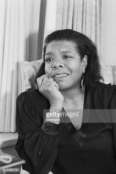 4/10/1986 Washington DC Maya Angelou wants to be remembered not as a poet singer actress dancer producer director or as the author of five...