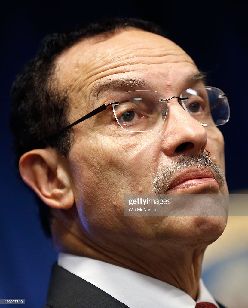 Washington DC Mayor Vincent Gray speaks during a press conference announcing a program where new 'body-worn cameras' will be deployed to the city's police officers September 24, 2014 in Washington, DC. The MPD's use of the cameras is intended to accurately document events, actions, conditions, and statements made during citizen encounters, traffic stops, arrests, and other incidents with the city's police officers.