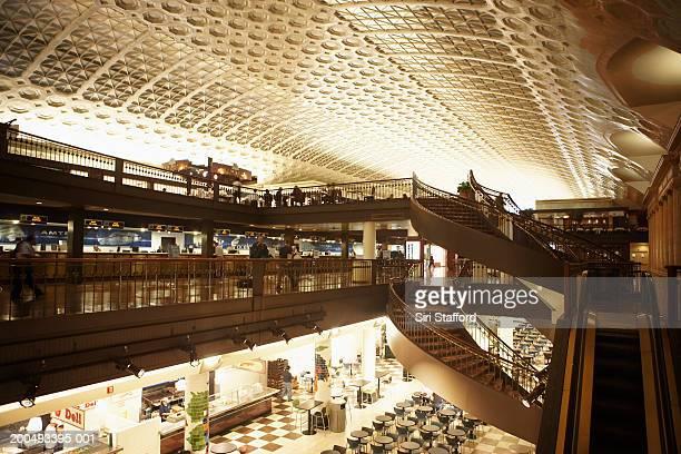USA, Washington DC, Union Station interior