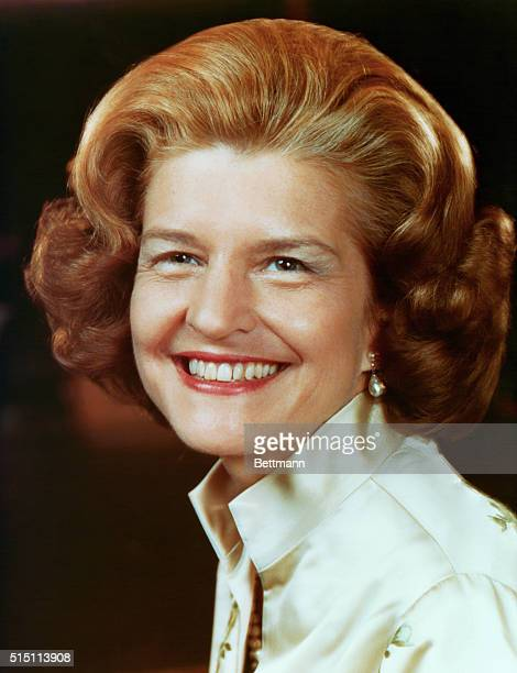 First Lady Betty Ford is shown in her new official photograph released by the White House 12/28 The picture was taken in November 1975