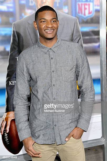 Washington Huskies basketball player CJ Wilcox attends Premiere Of Summit Entertainment's 'Draft Day' at Regency Bruin Theatre on April 7 2014 in Los...