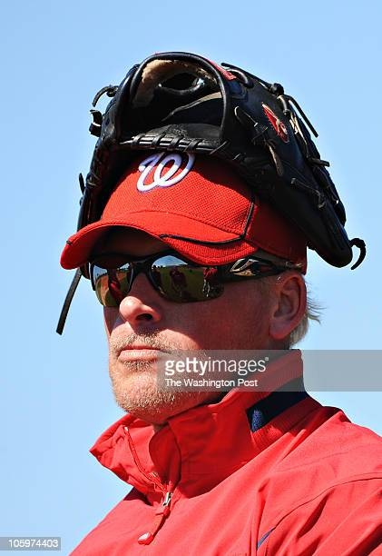 Washington Nationals pitcher Tyler Walker during Spring Training in Viera FL on Friday February 26 2010