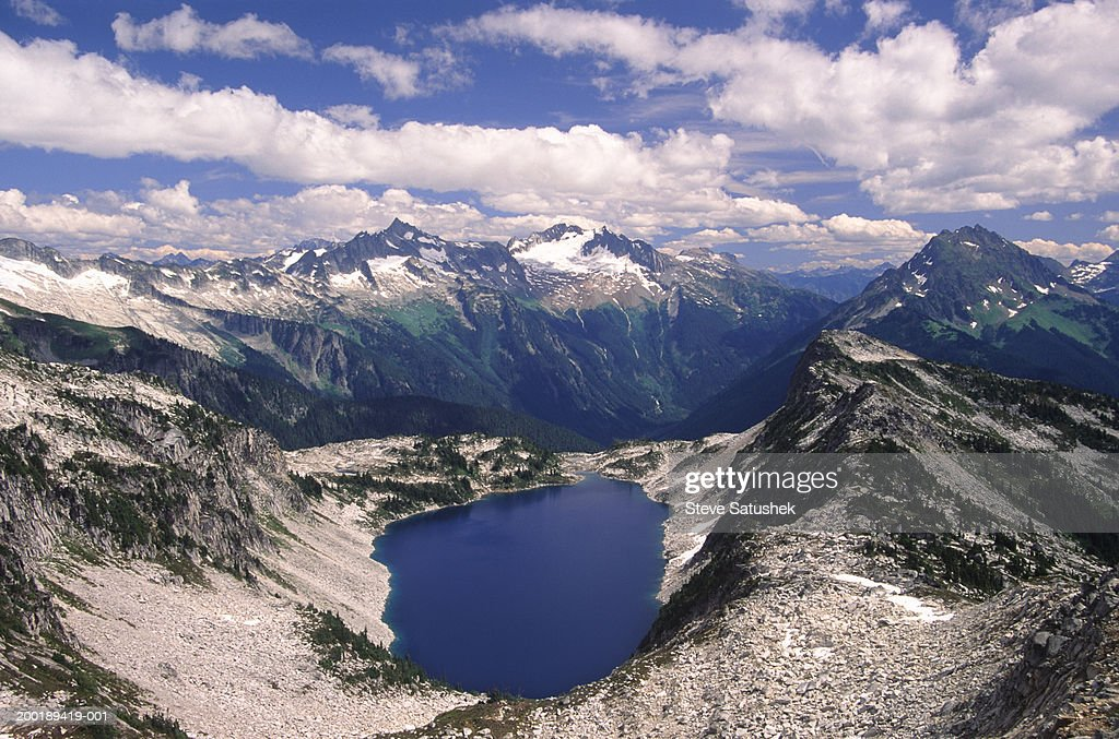 USA, Washington, North Cascades National Park, Hidden Lake