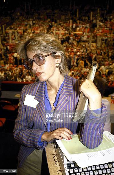 Washington Post reporter Sally Quinn at the Democratic National Convention