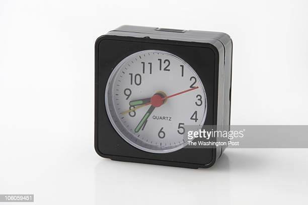 8/17/06 PHOTO Julia Ewan/TWP 101 Alarms Travel Alarm Clock from Rite Aid