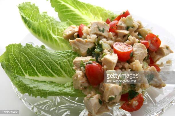 February 6 2008 PHOTO Julia Ewan/TWP CAPTION Heart healthy chicken salad