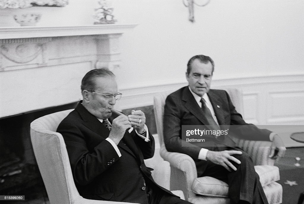 Image result for tito nixon smoking cigar