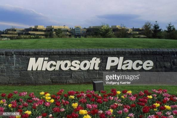 USA Washington Redmond Microsoft Campus